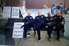 Walk a  Mile Stop Violence Against Women
